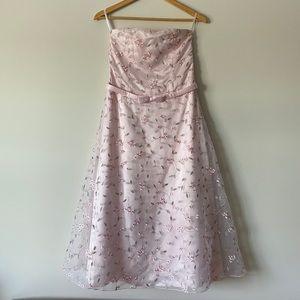 NWOT Jessica McClintock for Gunne Sax Flower Dress